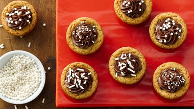 Snickers Stuffed Peanut Butter Cookies Recipe From Betty