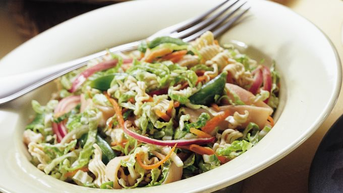 Asian Smoked Turkey Salad