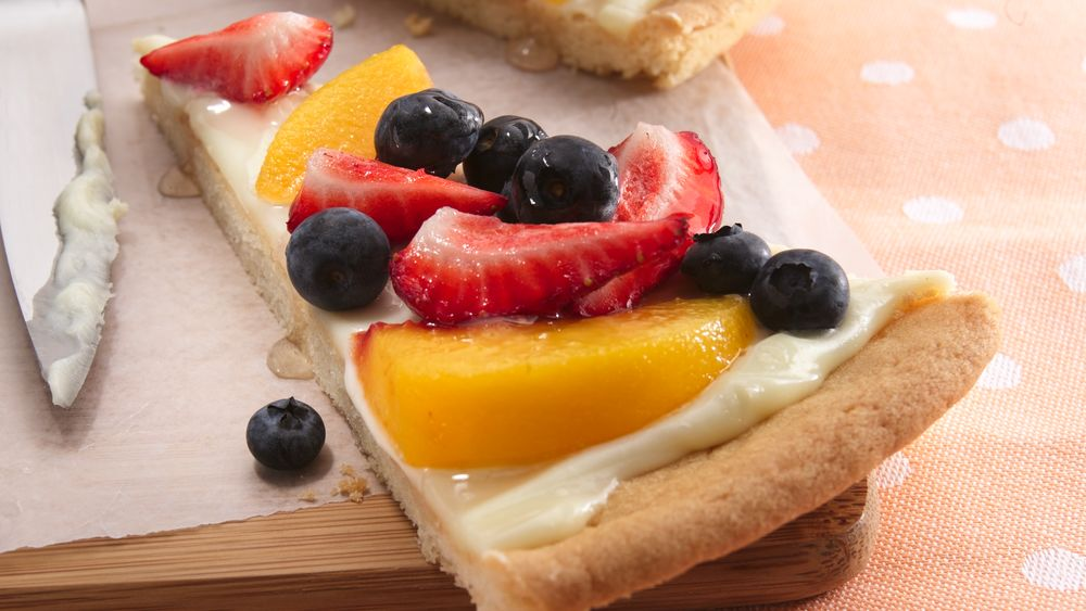 Fanciful Fruit Pizza