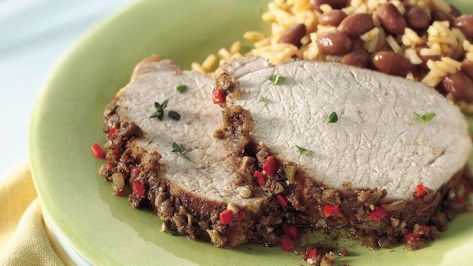 Slow-Cooker Jamaican Pork Roast