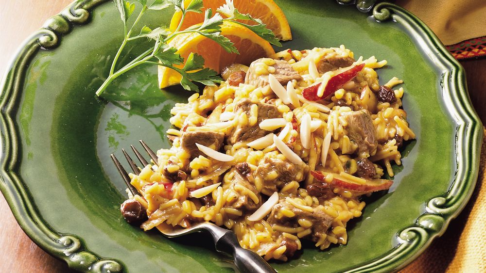 Moroccan Lamb and Rice