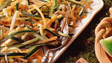 Zucchini and Carrots with Fresh Herbs