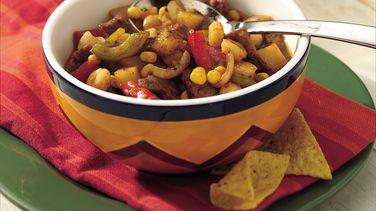 Southwestern Pork and Vegetable Stew