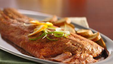 Smoked Brined Salmon