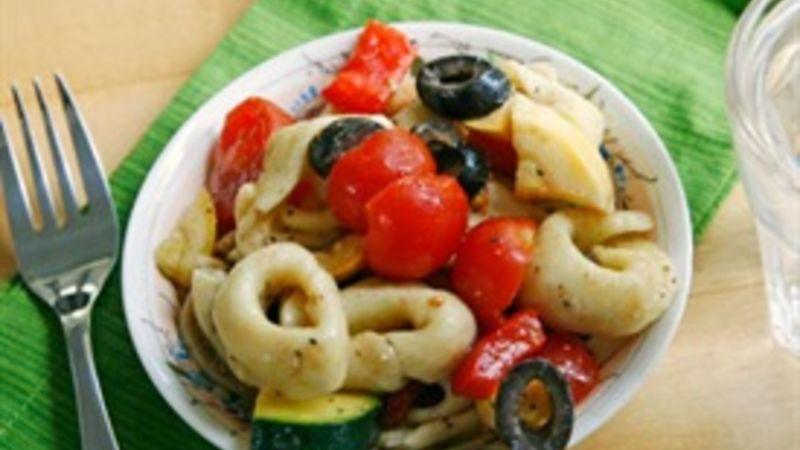 Veggie Lovers Tortellini Pasta Salad
