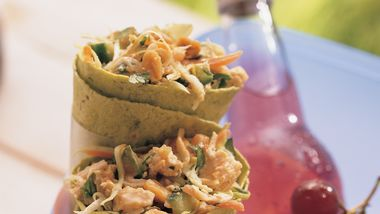 Shredded Thai Chicken Salad recipe from Betty Crocker