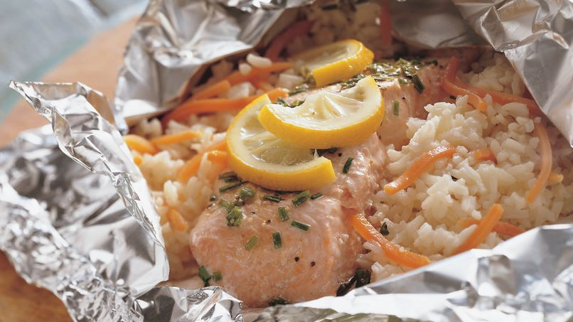 Lemon and Herb Salmon Packets