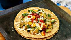 Zucchini and Corn Tacos