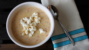 Slow-Cooker Beer Cheese Soup