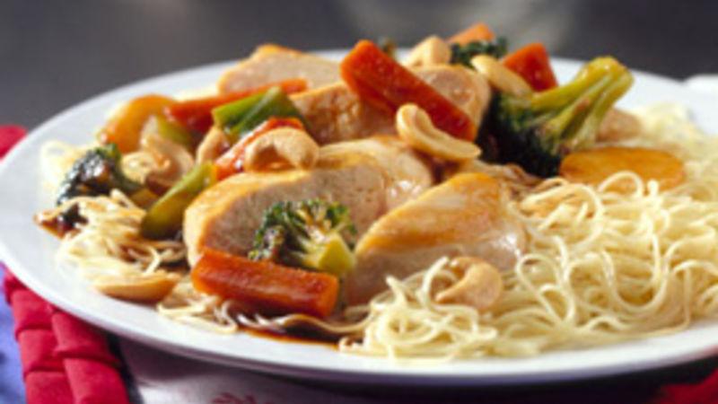 Sichuan Cashew Chicken