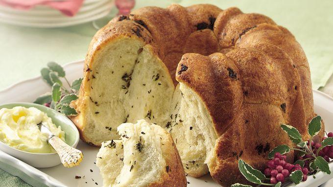 Herb Pull-Apart Bread
