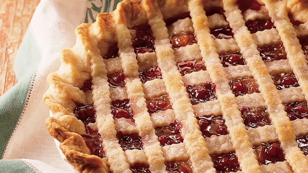 Cranberry-Apricot Pie
