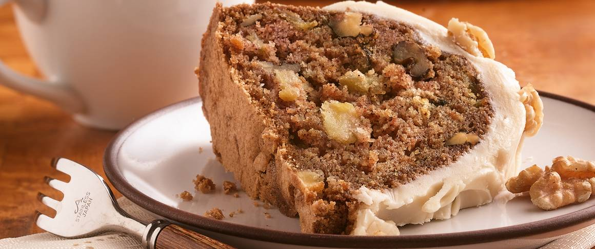 Paula Deen Apple Cake With Cream Cheese Frosting