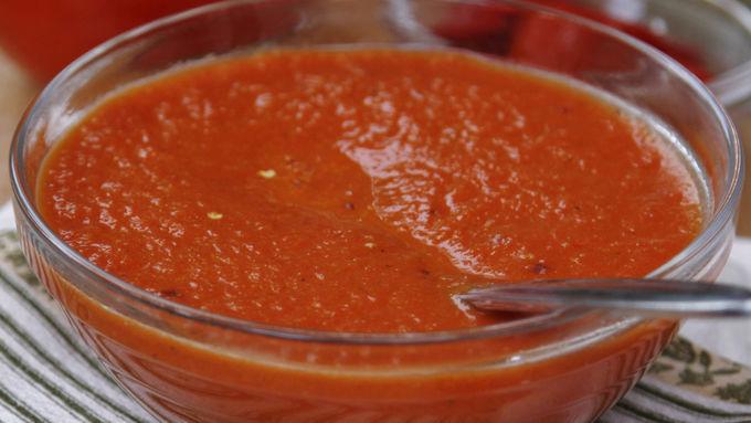 Fresh Bell Pepper Pizza Sauce