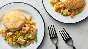Slow-Cooker Chicken Pot Pie