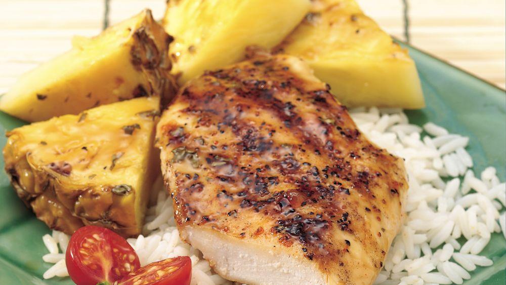 Pineapple-Teriyaki Chicken
