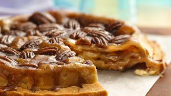 Topsy-Turvy Apple Pie