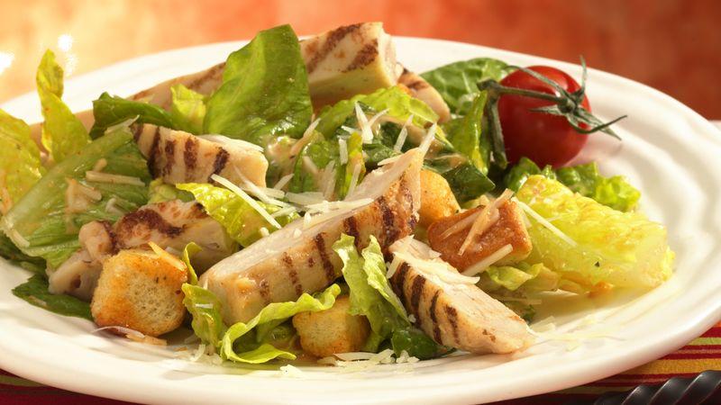 Southwestern Caesar Salad with Chicken