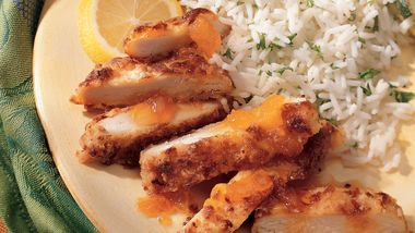 Lemon-Apricot Chicken (lighter)