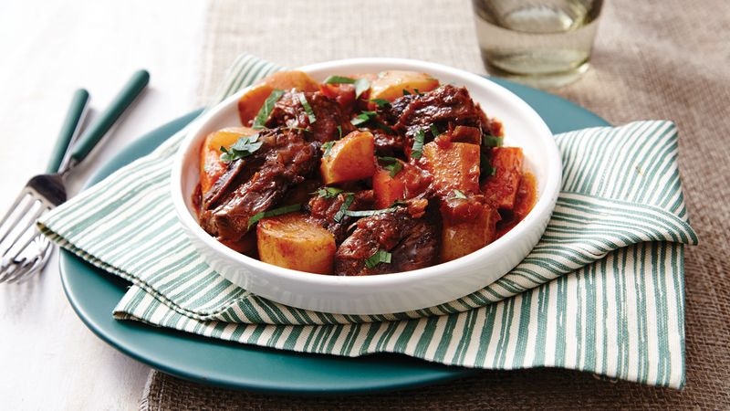 Root Vegetable Pot Roast recipe from Betty Crocker
