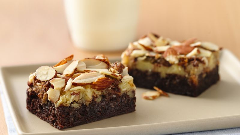 Almond Fudge Bars