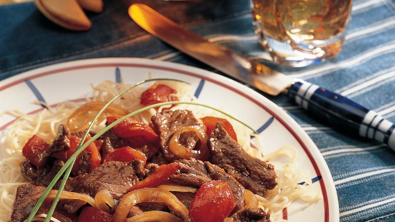 Spicy Pepper Steak