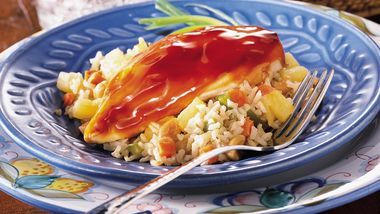 Chicken with Pineapple and Brown Rice