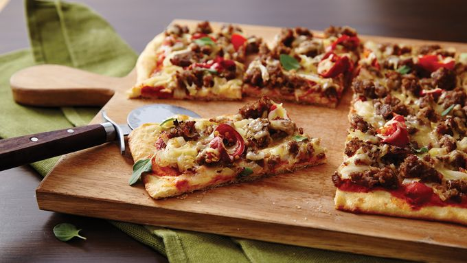 Sausage, Onion and Fennel Pizza
