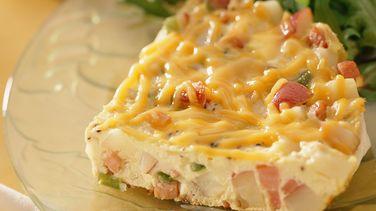 Hickory Ham and Potato Frittata