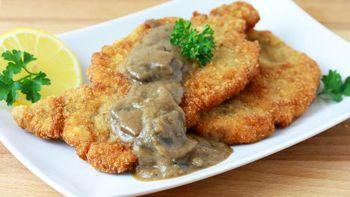 Crispy Fried Pork Chops (Jaeger Schnitzel)