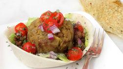 Bols de Tacos de Monfongo y Carne Molida