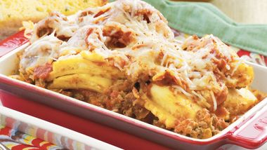 Slow-Cooker Shortcut Ravioli Lasagna