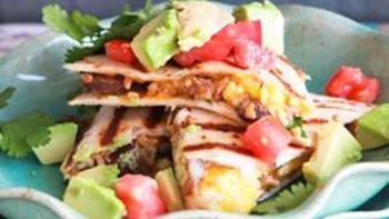 Skinny Mexi-Breakfast Quesadillas