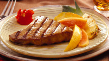 Ginger-Lime Tuna Steaks