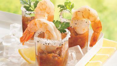 Margarita Shot-Glass Shrimp