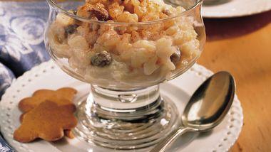 Slow-Cooker Caramel Rice Pudding