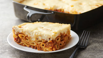 Easy Pastitsio (Greek Lasagna)