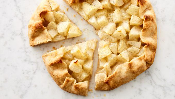 Pear Vanilla Crostata