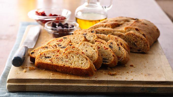 Sun Dried Tomato and Olive Bread