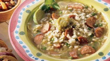 Southwestern Green Chile Soup