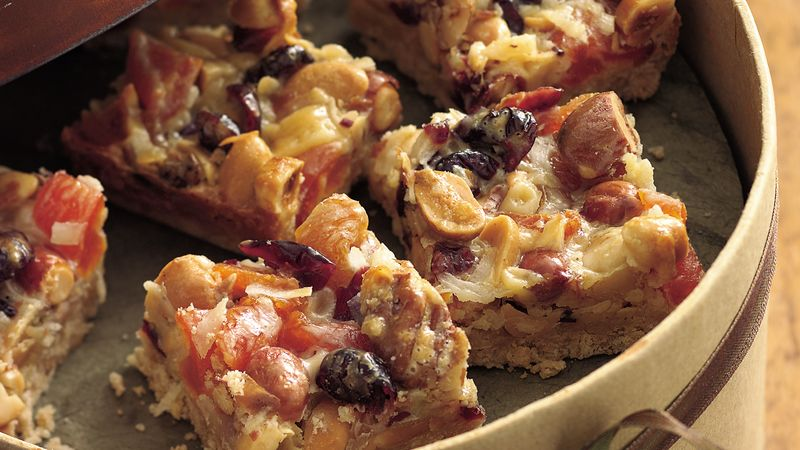 Fruit and Nut Squares