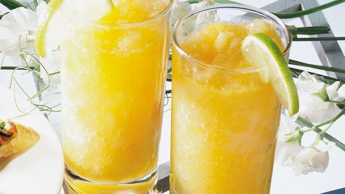 Mango-Passion Fruit Slush