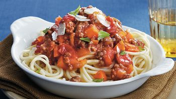 Slow-Cooker Two Meat Bolognese