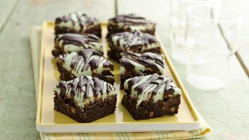 Gluten-Free Chocolate Mint Brownies