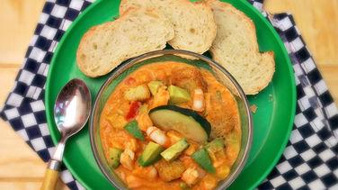 Shrimp Ceviche Gazpacho
