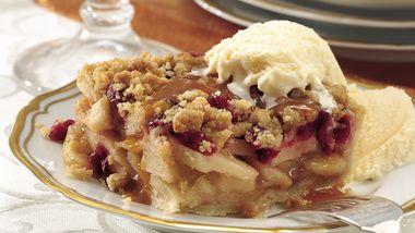 Cranberry-Apple Pie Squares