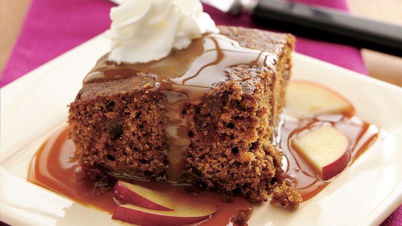 Caramel-Apple Gingerbread