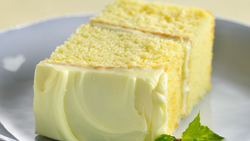 Lemon Drop Cake recipe from Betty Crocker