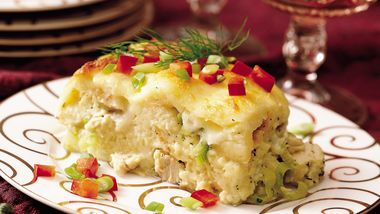 Turkey Leek Strata