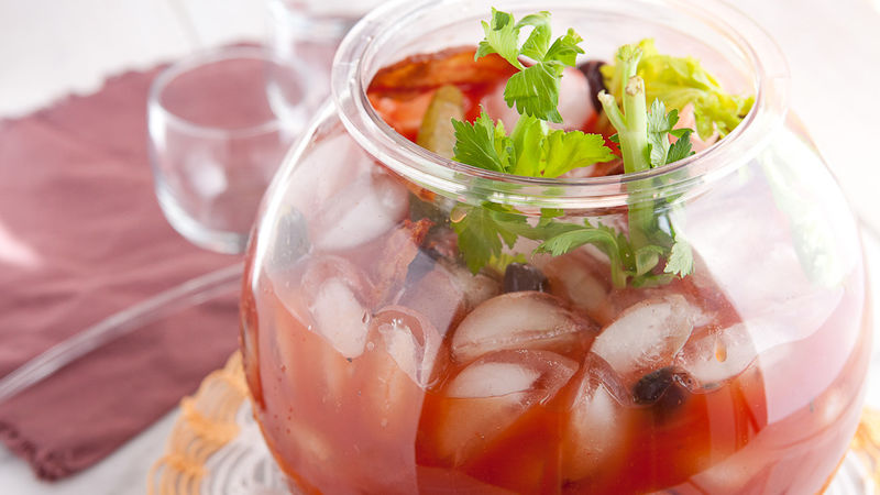 Bloody Mary Fish Bowl